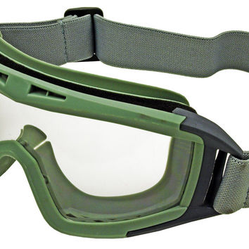 Anti Fog Airsoft Goggles - OD Green