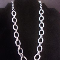 eBlueJay: 14th & Union Chain Link Necklace Designer Signed Costume Jewelry