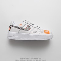 [ Free Shipping ]¡°Just do it ¡±Nike Air Force 1 Low Running Sneaker