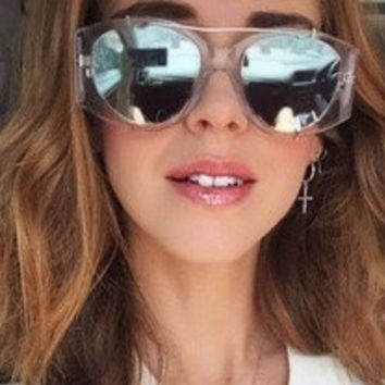 Aviator Sunglasses / Rose Gold Sunglasses / Designer Glasses / Blogger Style / Rose Gold Aviators / Bohemian Sunglasses / Wire Rim Sunglasse