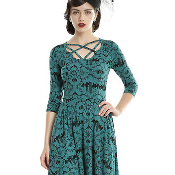 Fantastic Beasts And Where To Find Them Strappy Icons Dress