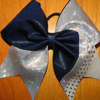 cheer bow in variety of color combinations by TonTonsBowtique