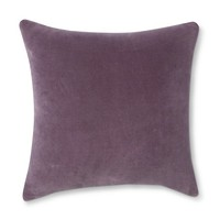 Threshold™ Velvet Toss Pillow - Purple (Square)