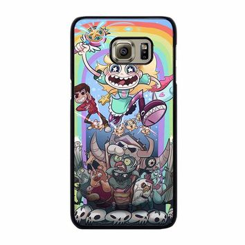 DISNEY STAR VS THE FORCE OF EVIL Samsung Galaxy S6 Edge Plus Case Cover