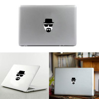 Fashion New Brand inyl Decal Sticker For Apple Heisenberg Walter White VFor for MacBook Air Pro Laptop 13 15 inch Top Quality