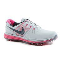Nike Women's Lunar Control Performance Golf Shoes - Pure Platinum/Pink