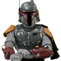 Diamond Select Star Wars: Return of the Jedi: Boba Fett Bust Bank