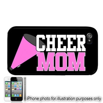 Cheer Mom 3 iPhone 6 Plus Case 5C 4 5 Cover Skin Shell Back Cheerleading Ipod Touch