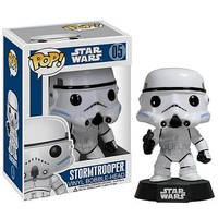 Star Wars Stormtrooper Pop! Vinyl Figure Bobble Head - Funko - Star Wars - Bobble Heads at Entertainment Earth