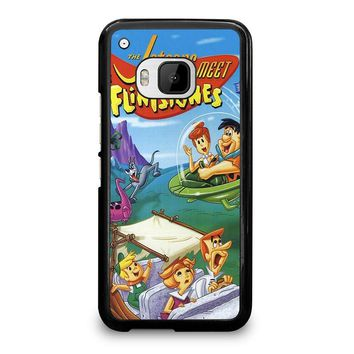 JETSONS MEET FLINTSTONES  HTC One M9 Case Cover
