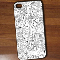exo iphone 4/4s/5/5c/5s case, exo samsung galaxy s3/s4/s5, exo samsung galaxy s3 mini/s4 mini, exo samsung galaxy note 2/3