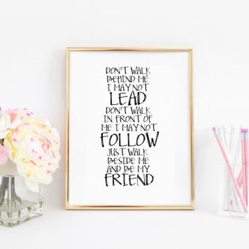 Winnie the Pooh quote  Friendship Quote Best Friend Gift Nursery Decor Children Wall decals Printable Art Winnie the Pooh Art Boy Nursery
