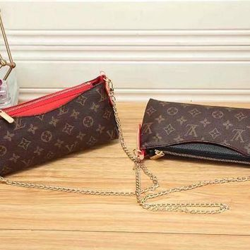 DCC3W Louis Vuitton Women Fashion Leather Crossbody Satchel Shoulder Bag-3