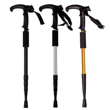 4-section Adjustable Walking Sticks For Hiking Walking Trekking Trail Sticks Pole Cane Outdoor Ultralight Walking Canes