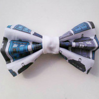 Dr Who Bow Tie (Clip on)