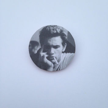 James Franco Pin Button