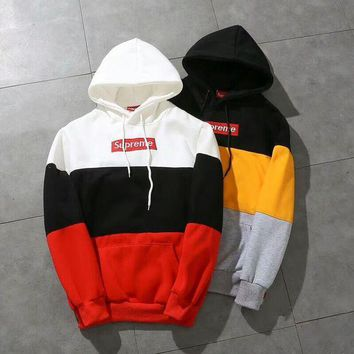 Supreme Hot Hooded Women Top Sweater Hoodies