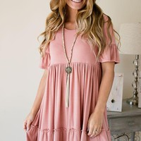 Baby Doll Blues Blush Dress