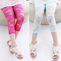baby girl candy color lace leggings,pants = 1958450948
