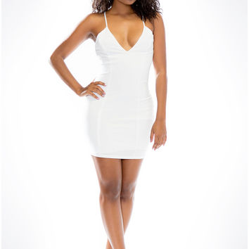 Dacey Bodycon Dress - White