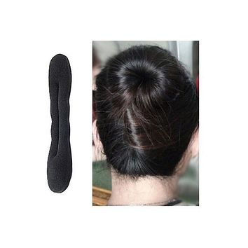 Woman Hair Accessories Bun Sponge Hair Braiding Tools Magic Twist Foam French Braider Dount Hair Bun Maker Headwear Hair Clips