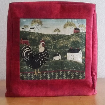 Kitchenaid Mixer Cover- Farmland Rooster