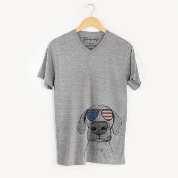Leroy the German Shorthaired Pointer  - USA Patriotic Collection