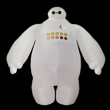Adult T-REX Inflatable Costume Big Hero Baymax Cosplay Fantasias Jumpsuit Minions Despicable Me Halloween Costume for Women