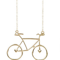 Bike Charm Necklace