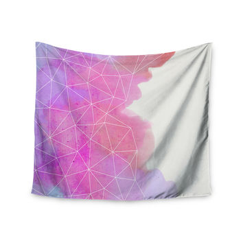 "Cafelab ""Spring Shadows"" Purple Pastel Wall Tapestry"