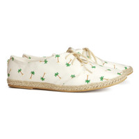 H&M Lace-up Espadrille Shoes $17.95