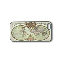 The old world map - iPhone 5 case, iphone 4 case, ipod 5 case, ipod 4 case, samsung galaxy S3, S2,  galaxy note 2, ipod case
