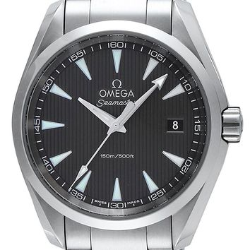 OMEGA Men's Watch Seamaster Aqua Terra Grey Dial 150M waterproof 231.10.39.60.06.001