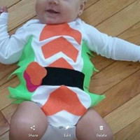 Baby Sushi Halloween Costume Long Sleeves 18 months Nigiri Halloween Costume Sushi Costume Ships in 24 hours or less using Priority mail