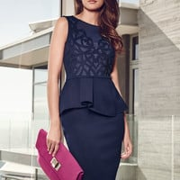 Work Lady Sleeveless Dress