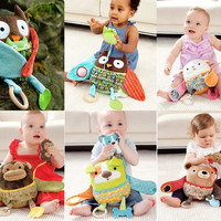 Multifunction Mother Owl Appease Baby Doll Series Baby Toys