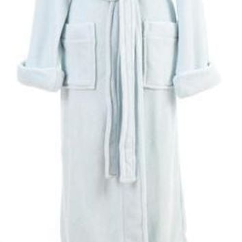 Sheepy Fleece Robe by Pine Cone Hll | Chalk Blue