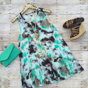 Jade Sleeveless Dress