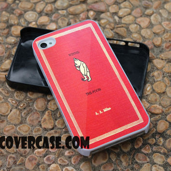 Winnie the Pooh Books 1 case for iPhone 4/4S/5/5S/5C/6/6+ case,samsung S3/S4/S5 case,samsung note 3/4 Case