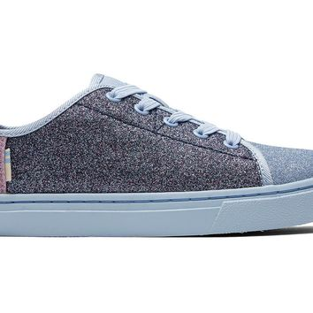 TOMS - Youth Lenny Elastic Multi Blocked Glitter Sneakers