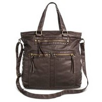 Women's Tote Faux Leather Handbag - Mossimo Supply Co.™