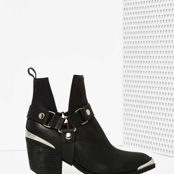 Jeffrey Campbell Orwell Leather Harness Boot