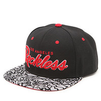 Young and Reckless OG Reckless Crackle Snapback Hat at PacSun.com