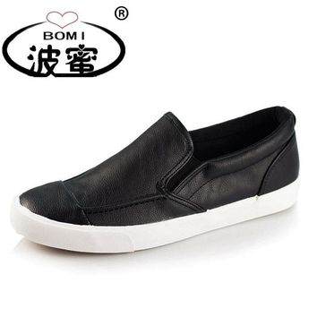 New 2017 Fashion Shoes Men Soft Leather Footwear Men's Causal Shoes Male Brand Loafers
