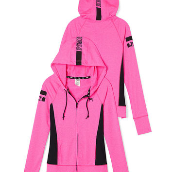 Ultimate Full-Zip Hoodie - PINK - Victoria's Secret
