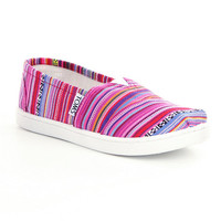 TOMS Girls´ Geometric Alpargata Shoes | Dillards