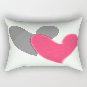 Lovers Rectangular Pillow by EvidaSerrano