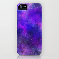 Galaxy - Basic colour iPhone Case by Ellyonart | Society6