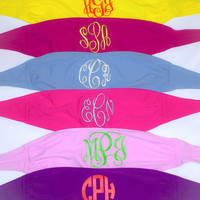 Bandeau Bathing Suit Monogrammed