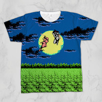 Ninja Gaiden Duel Unisex Video Game Sublimation T-shirt